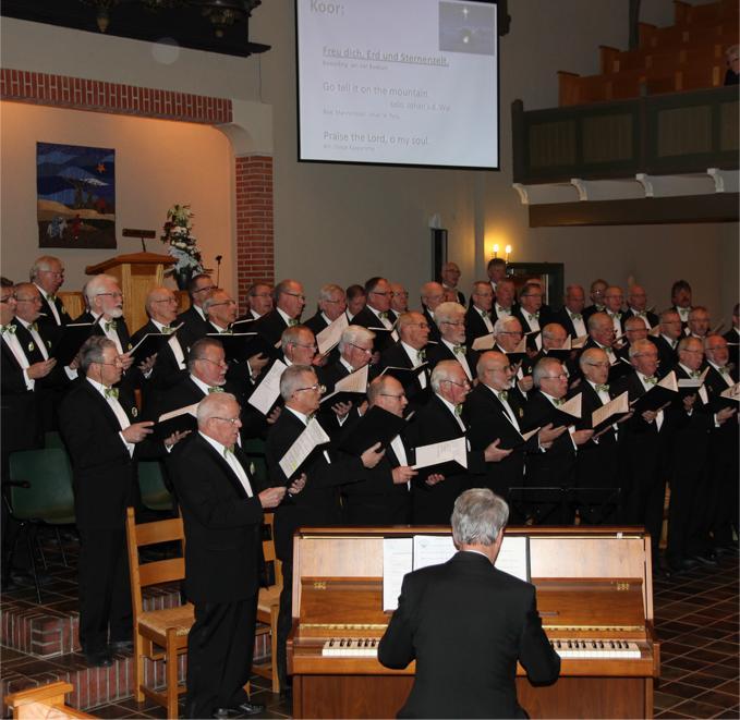 Kerst concert poststraat kerk Stadskanaal 28-10-2016